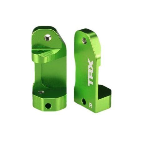 Styrspindelhållare Aluminium Grön (2)