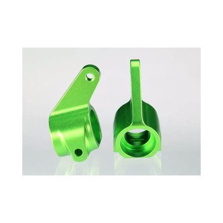 Styrspindel Grön Alu. (Par)