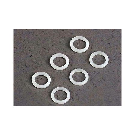 Brickor 5x8x1mm (6) vit plast