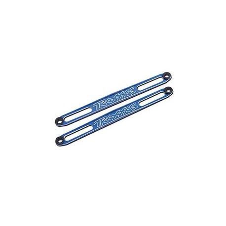 Batterifästen blå aluminium (2)