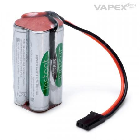 Mottagarbatteri NiMH 4,8V 950mAh Kub