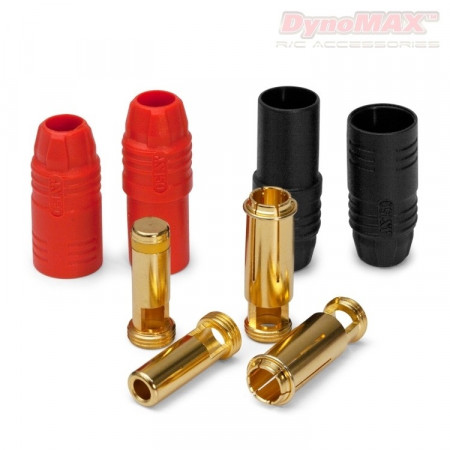Kontakt AS150 Anti-Spark 7mm röd/svart 2+2