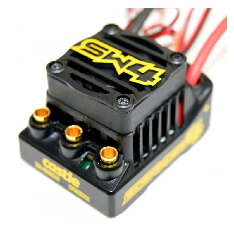 Castle Creations SIDEWINDER 4 12 6V ESC WP Combo 1406-6900KV Sensor Motor