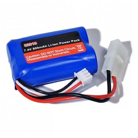 Li-Ion Batteri 2S 7,4V 800mAh 8206, 8208 2013 version