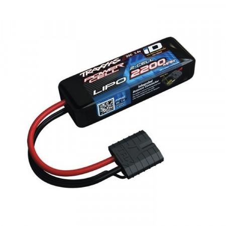 Traxxas Li-Po Batteri 2S 7,4v 2200mAh 25C iD-kontakt