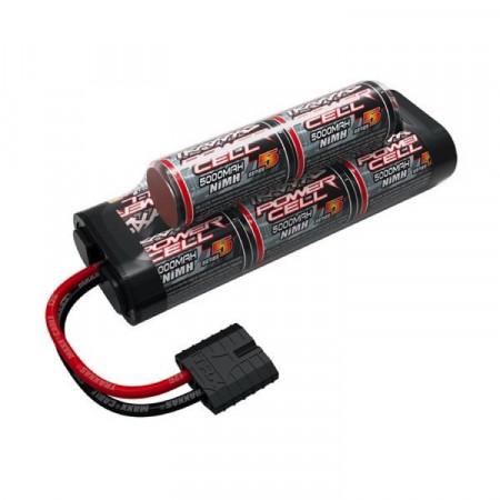 Traxxas NiMH Batteri 9,6V 5000mAh Series 5 Hump iD-kontakt