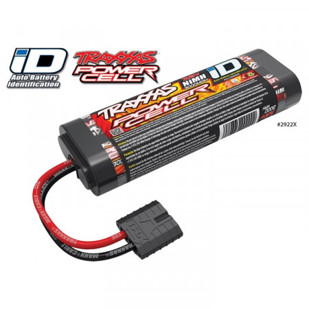 Traxxas NiMH Batteri 7,2V 3000mAh iD-kontakt