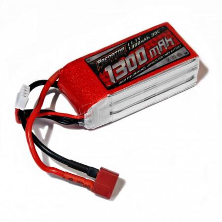 Li-Po Batteri 3S 11,1V 1300mAh 20C T-kontakt