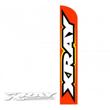 XRAY Vertikal Flagga 4meter Orange