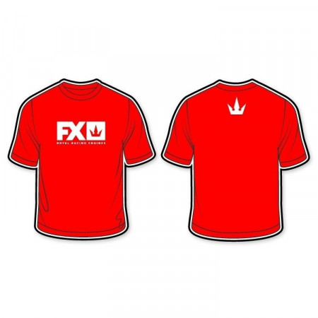 FX T-shirt Röd (S)