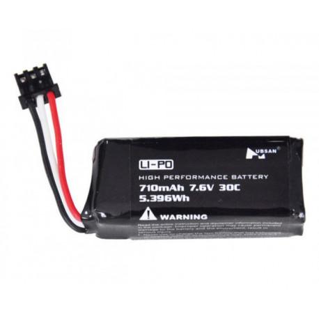 Li-Po Batteri 2S 7,6V 710mAh 30C H122D