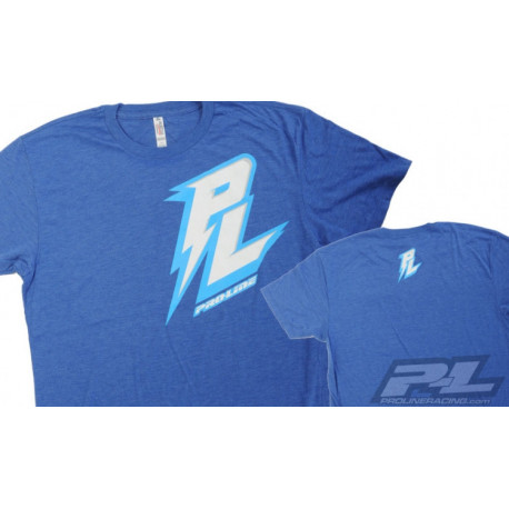 Pro-Line Bolt Blå T-Shirt X-Large (XL)