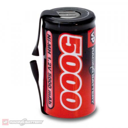 NiMH Batteri 1,2V 5000mAh Sub-C