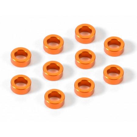 Shims alum 3x5x2mm Orange (10)