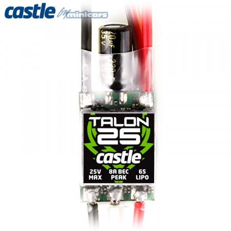 Castle Creations TALON 25 - 2S-6S 25A 5A-BEC ESC
