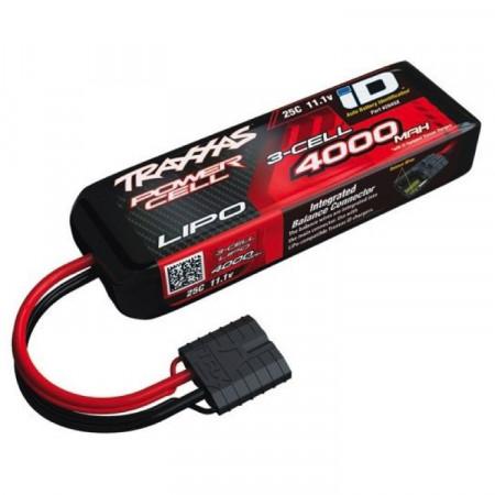 Traxxas Li-Po Batteri 3S 11,1V 4000mAh 25C iD-kontakt
