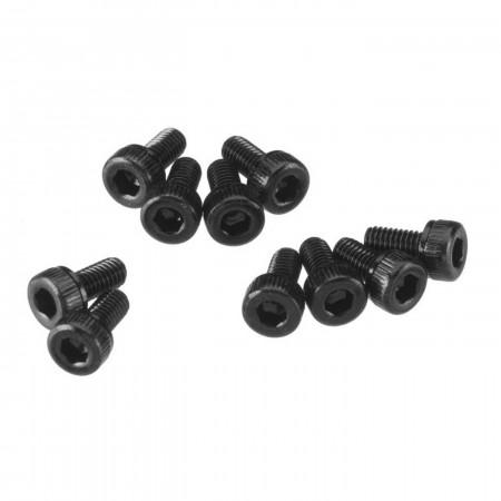 AXA083 Cap Head M3x6mm Black Oxide (10)