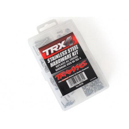 Skruvsats Komplett Rostfritt (Sortimentslåda) TRX-4