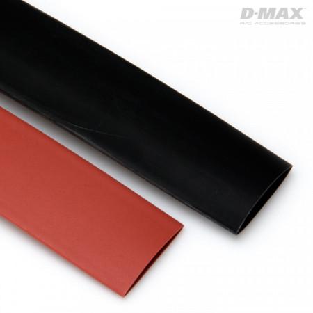 Krympslang Röd & Svart D13mm x 1m