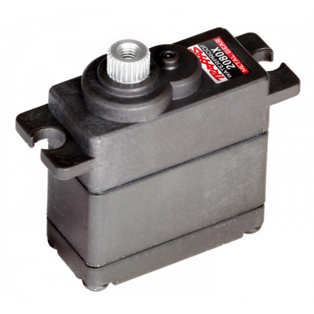 Servo 2080X Micro Metalldrev Vattentätat