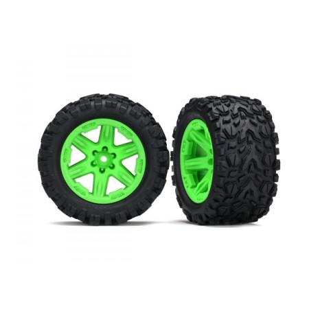 "Däck & Fälg 2,8"" Talon Extreme / RXT Grön (TSM) 4WD"