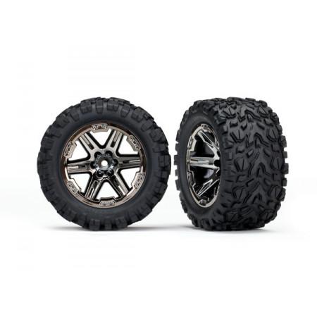 """Däck & Fälg 2,8"""" Talon Extreme / RXT Svartkrom (TSM) 4WD"""