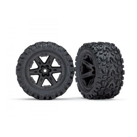 """Däck & Fälg 2,8"""" Talon Extreme / RXT Svart (TSM) 2WD Bak"""