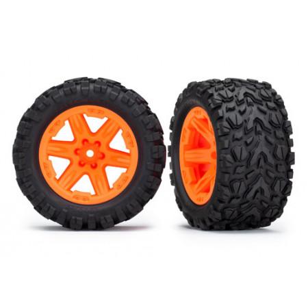 """Däck & Fälg 2,8"""" Talon Extreme / RXT Orange (TSM) 2WD Bak"""