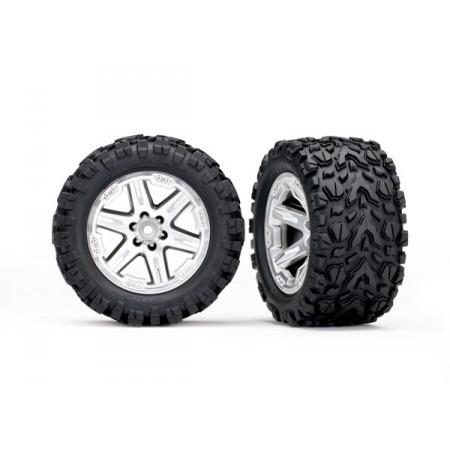 """Däck & Fälg 2,8"""" Talon Extreme/RXT Satin Krom (TSM) 2WD Bak"""