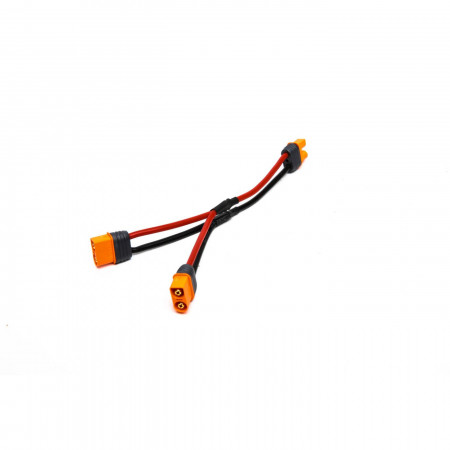 """IC3 Battery Parallel Y-Harness with 6""""/150mm Wire, 13 AWG"""