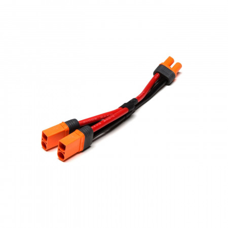 "IC5 Battery Parallel Y-Harness with 6""/150mm Wire, 10 AWG"