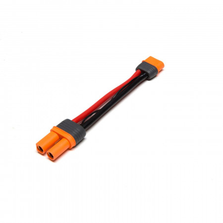 """Adapter: IC5 Battery / IC3 Device, 4""""/100mm Wire 10 AWG"""