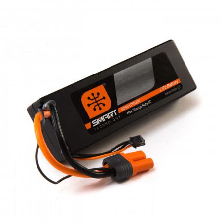 Spektrum 14.8V 5000mAh 4S 30C Smart LiPo, Hardcase, IC5