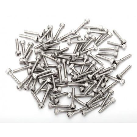 Rostfria Skruvar för Beadlock-ringar (Kompl. till 4 Fälgar)