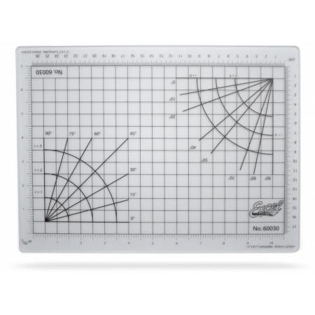 Skärunderlägg Självläkande 216x305mm (transparent)