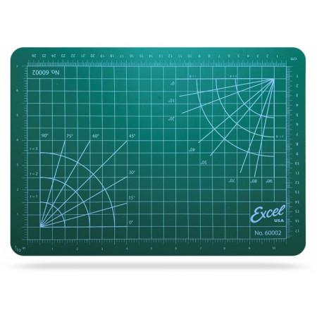 Skärunderlägg Självläkande 216x305mm (grön)