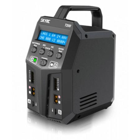 SkyRC T200 Laddare 240VAC/12VDC 12A 100W x 2
