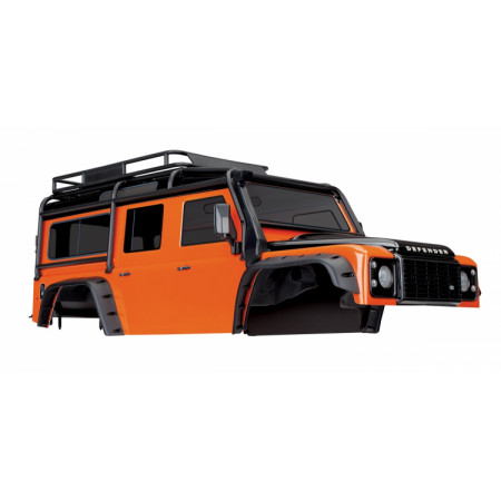 Kaross Land Rover Defender Orange Komplett