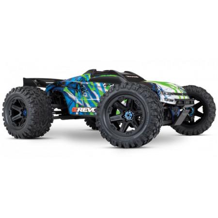 Traxxas E-REVO 2.0 Brushless 4WD TQi TSM RTR - Utan Batteri & Laddare