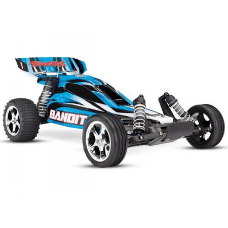Bandit 2WD 1/10 RTR TQ - Utan Batt/Ladd Blå