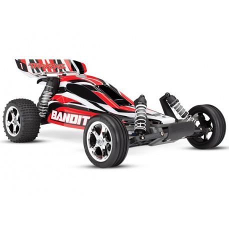 Bandit 2WD 1/10 RTR TQ - Utan Batt/Ladd Röd