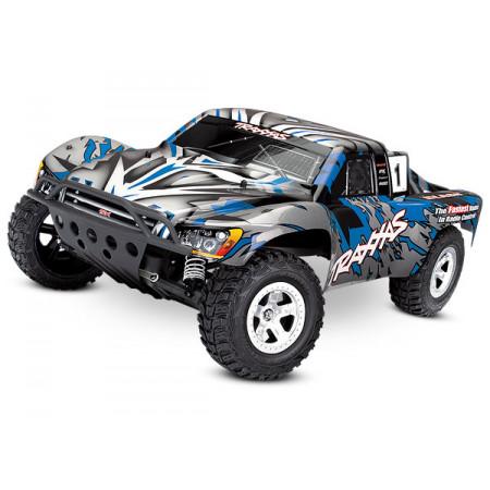 Traxxas Slash 2WD 1/10 RTR TQ utan Batteri Blå