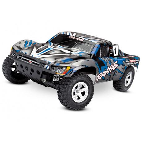 Slash 2WD 1/10 RTR TQ utan Batteri Blå