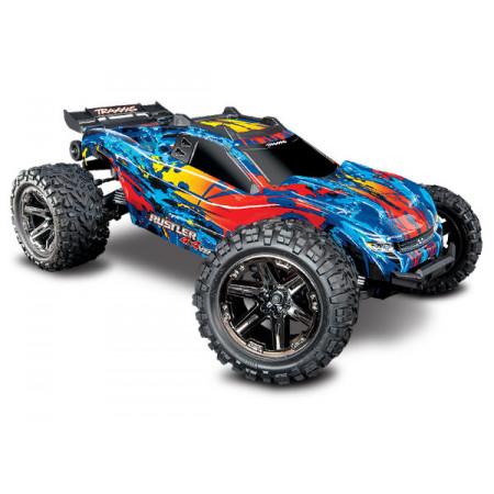 Rustler 4x4 VXL 1/10 RTR TQi TSM Röd