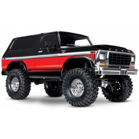 TRX-4 Ford Bronco Ranger XLT Crawler RTR Röd