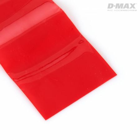 Krympslang Röd Transparent D35/B55mm x 1m