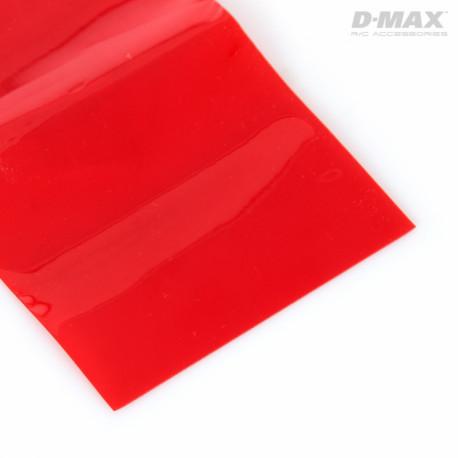 Krympslang Röd Transparent D47/B73mm x 1m