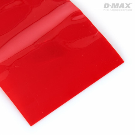 Krympslang Röd Transparent D54/B85mm x 1m