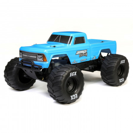 ECX 1/10 Amp Crush 2WD Monster Truck Brushed RTR Blue