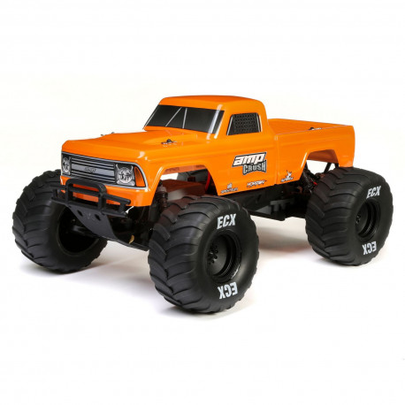 ECX 1/10 Amp Crush 2WD Monster Truck Brushed RTR Orange